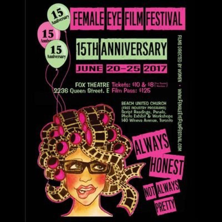 Heading up to #Toronto for @FemaleEye #filmfestival #LateNightThrillsandChills programming! Join me as I handle #filmmaker Q&amp;A June 23 &amp; 24<br>http://pic.twitter.com/dOZMnxoWTU