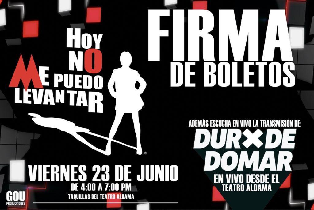 Nos vemos y nos escuchamos mañana @HNMPL_MX en el Teatro Aldama y en @...