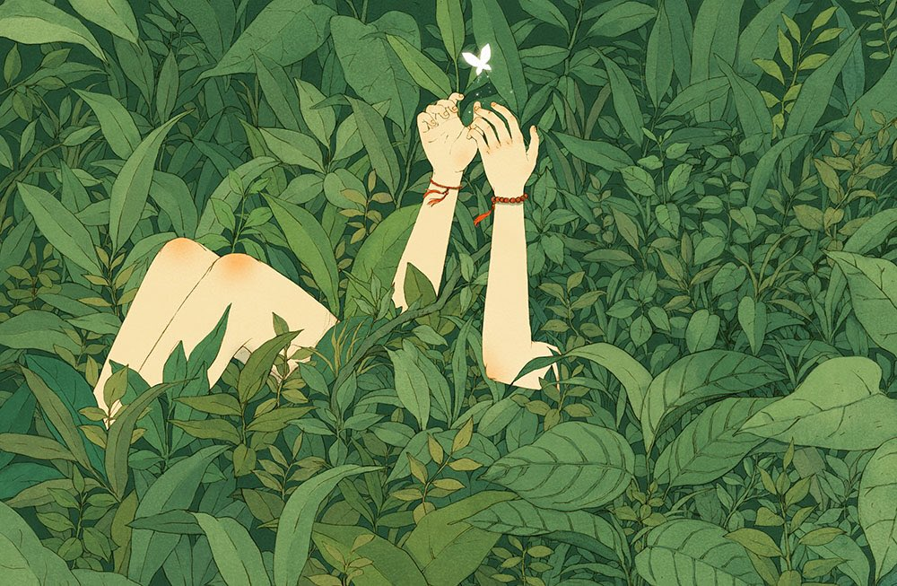 Fairy Illustrations by Jin Xingye #O+ #Graphic <br>http://pic.twitter.com/saW03KRcSl