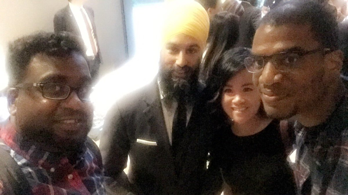With @theJagmeetSingh @SteelworkersCA for the #USWxNDPLDdr #Toroto #debate <br>http://pic.twitter.com/Q50iPnMhrq