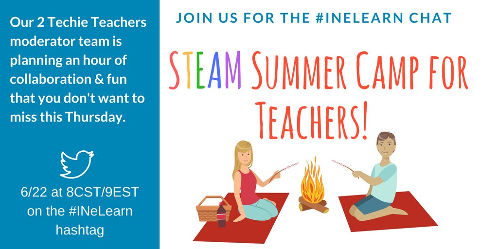 Thumbnail for #INeLearn Chat 6/22/17