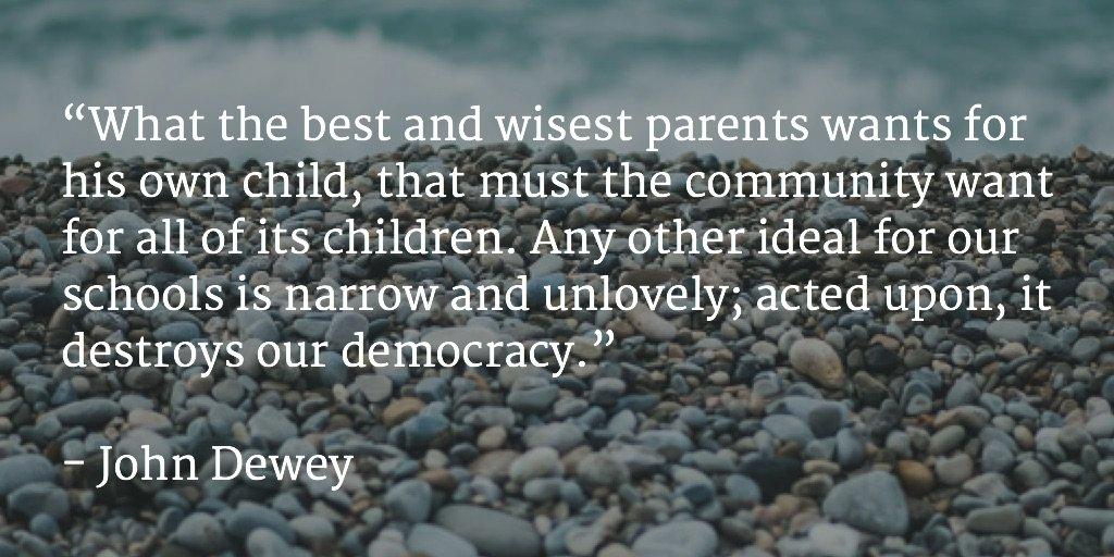 John Dewey on education #quote https://t.co/w3Z5Rczfr0