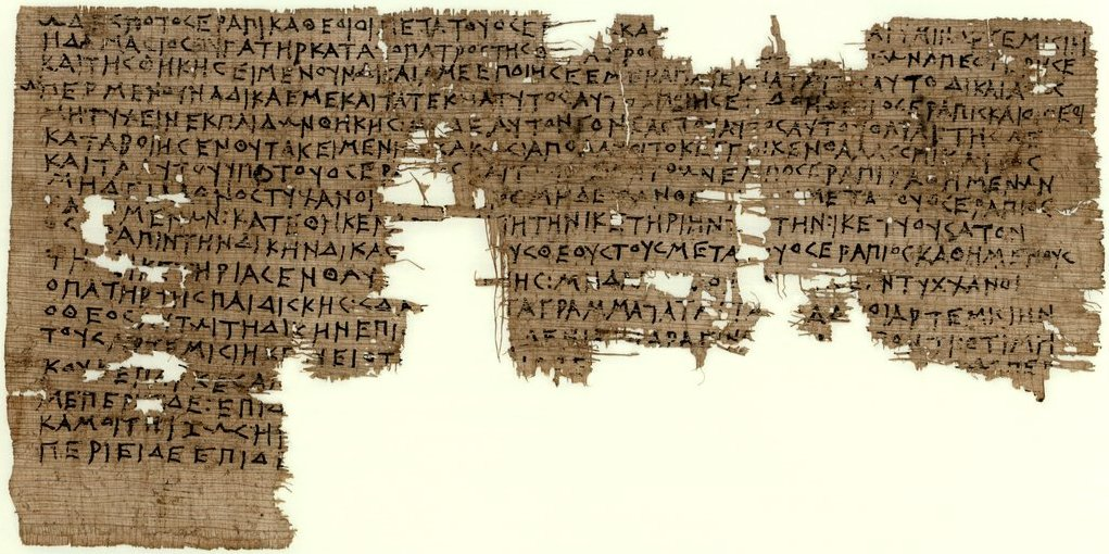 Ancient curse from the late 4th century BC: one of the earliest surviving Greek documents on papyrus from #Egypt: https://t.co/QJzVmfNZFR https://t.co/JOSLPthd63