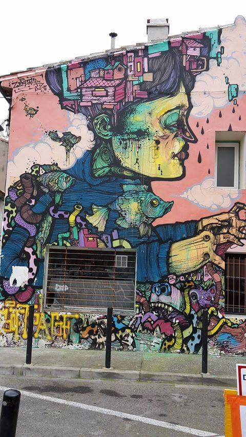 Only info on this is that it was from a #StreetArt fest I believe in Nimes #France #urbanart<br>http://pic.twitter.com/mHWsiJPVsf