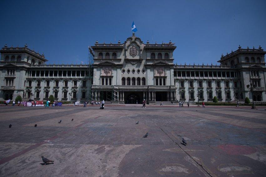 Cerrarán temporalmente áreas del Palacio Nacional tras #TemblorGT: