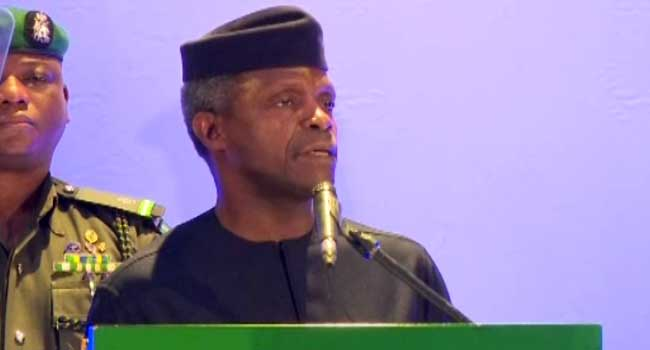 Acting President Osinbajo condoles with victims of the recent violent attacks in a number of Taraba communities where deaths have been reported.