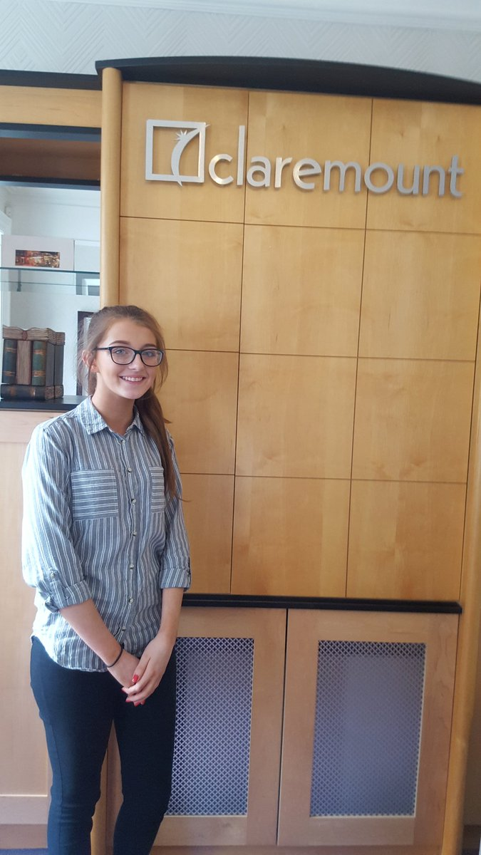 Caoimhe keeping busy #maths #Accounts @Claremount Accountants. Always learning new skills @StCeciliasDerry<br>http://pic.twitter.com/vBlXHHRAH8