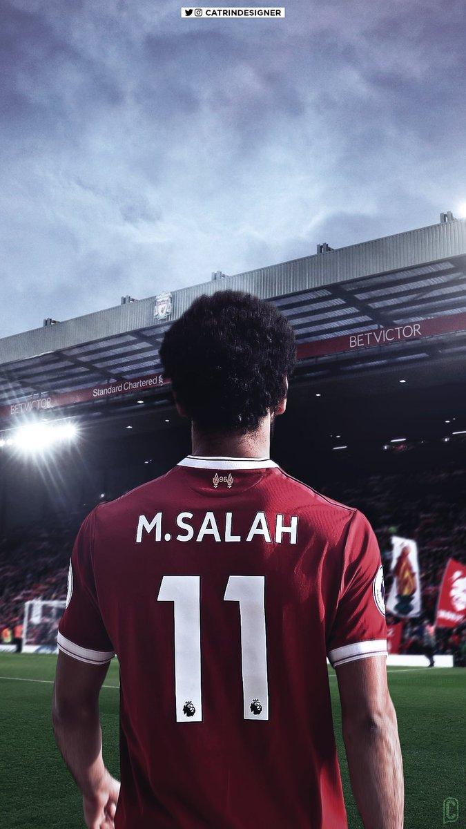 """Catrin on Twitter: """"Liverpool's new number 11, Mohamed # ...  Catrin on Twitt..."""