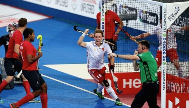 England have secured a place at the 2018 Hockey World Cup with a 4-2 victory over Canada.  Read more: https://t.co/BUMByG1zlC