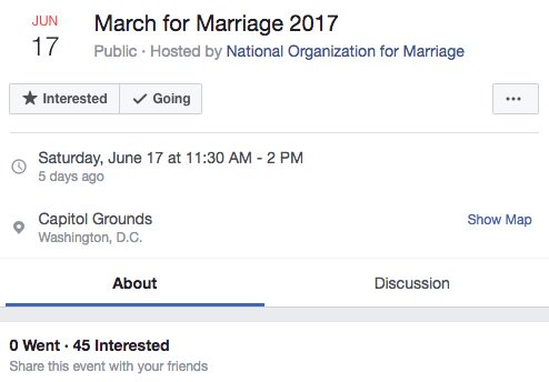 Man throws anti-gay rally, no one shows up: https://t.co/c5BupJ3z7b