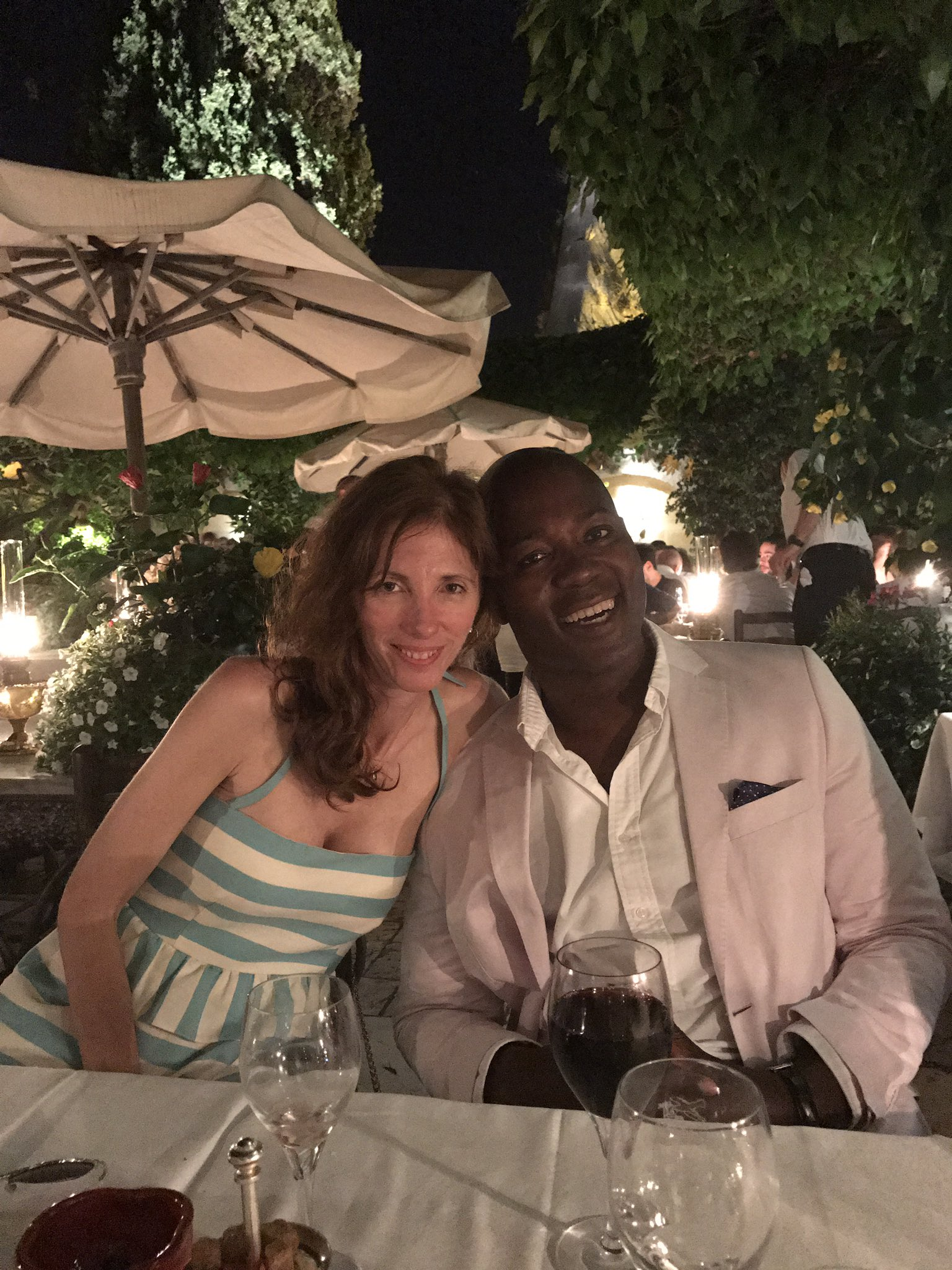 RT @ClaireBeale: Still going strong: Thursday night at the Colombe d'or with @saatchilondon's Magnus Djaba https://t.co/wqYhkmoVLF