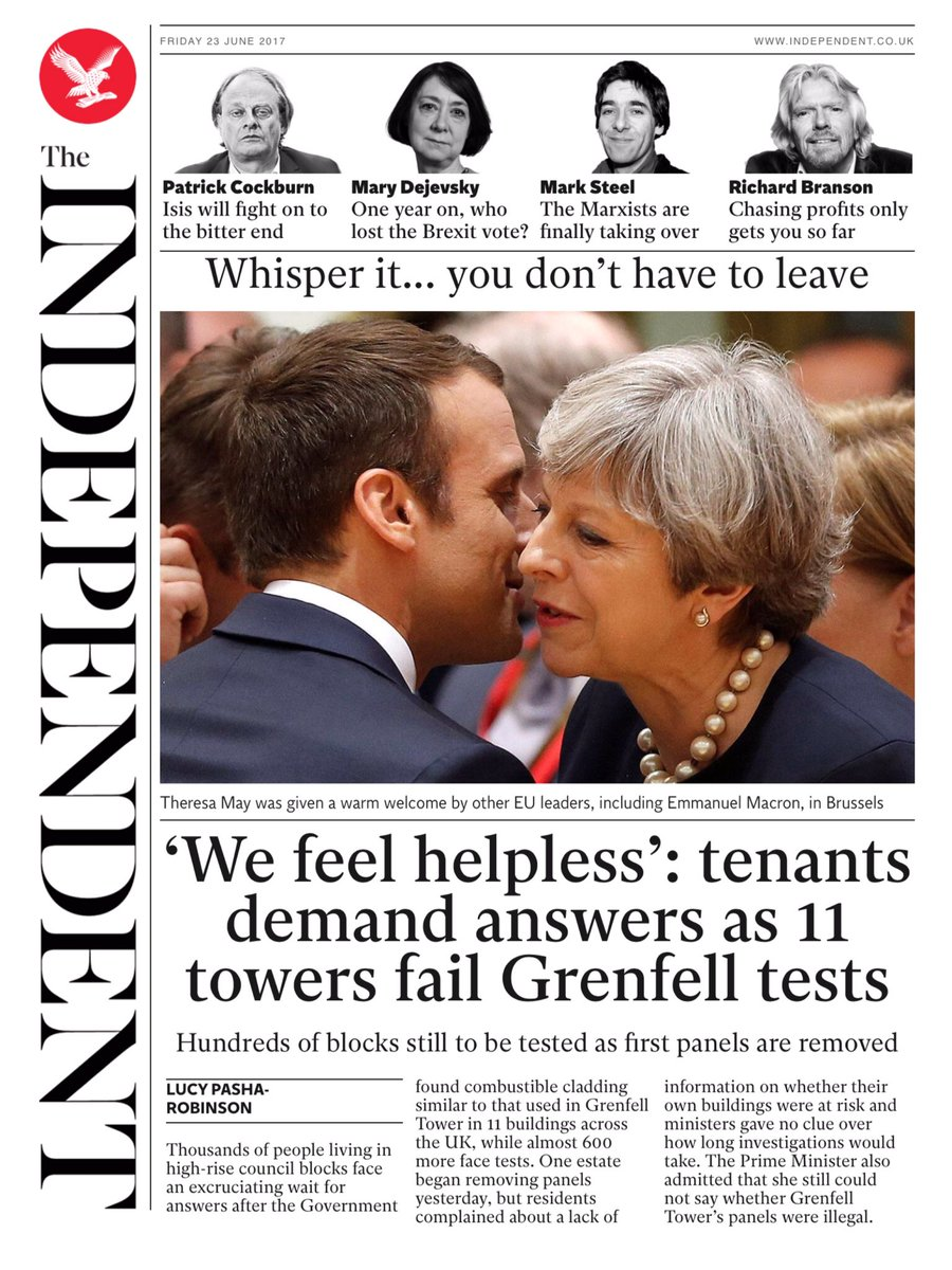 THE INDEPENDENT: 'We feel helpless': tenants demand answers as 11 towe...