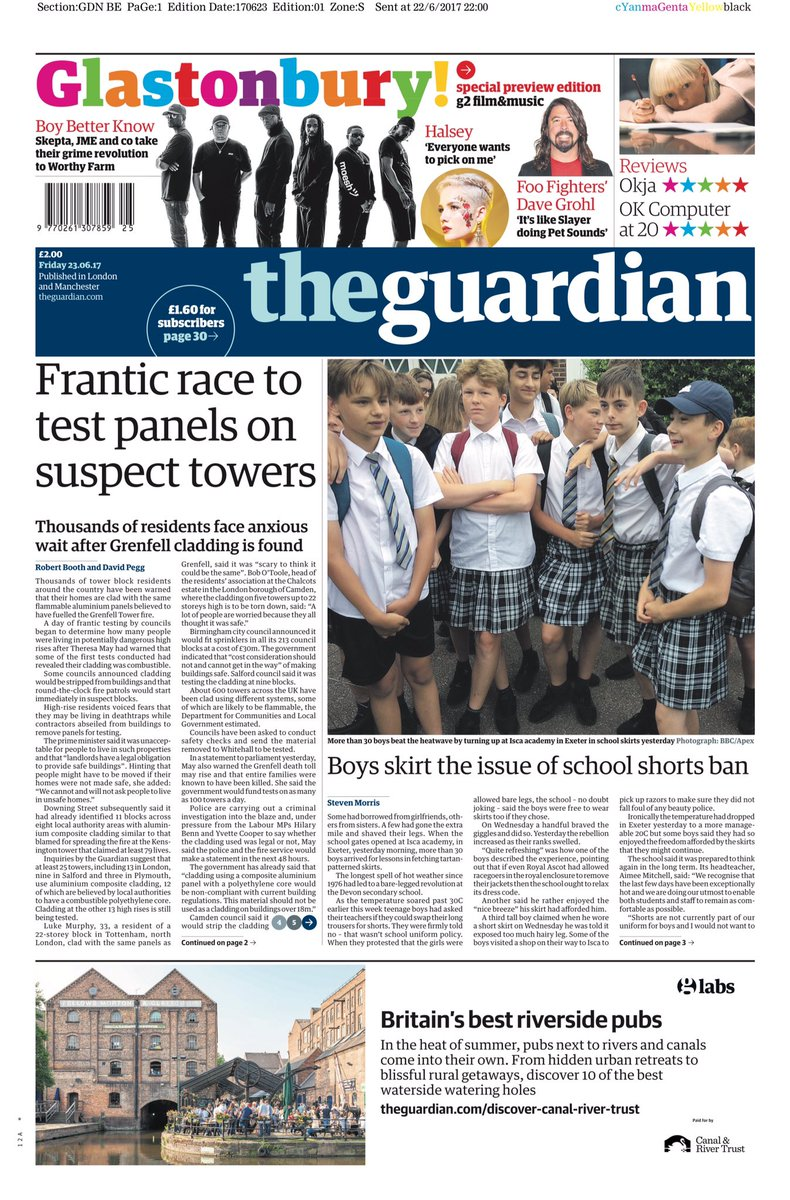 Friday's Guardian: