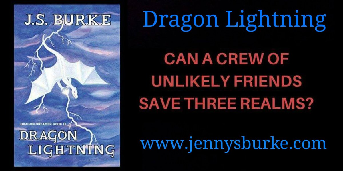 DRAGON LIGHTNING by JS BURKE CAN A CREW OF UNLIKELY FRIENDS SAVE THREE REALMS? #Dragon #Ocean #Volcano  https://www. amazon.com/Dragon-Lightni ng-Dreamer-Book-ebook/dp/B01MA1ZOJ6/ &nbsp; …  #IARTG #ASMSG<br>http://pic.twitter.com/EnMiczSwE1