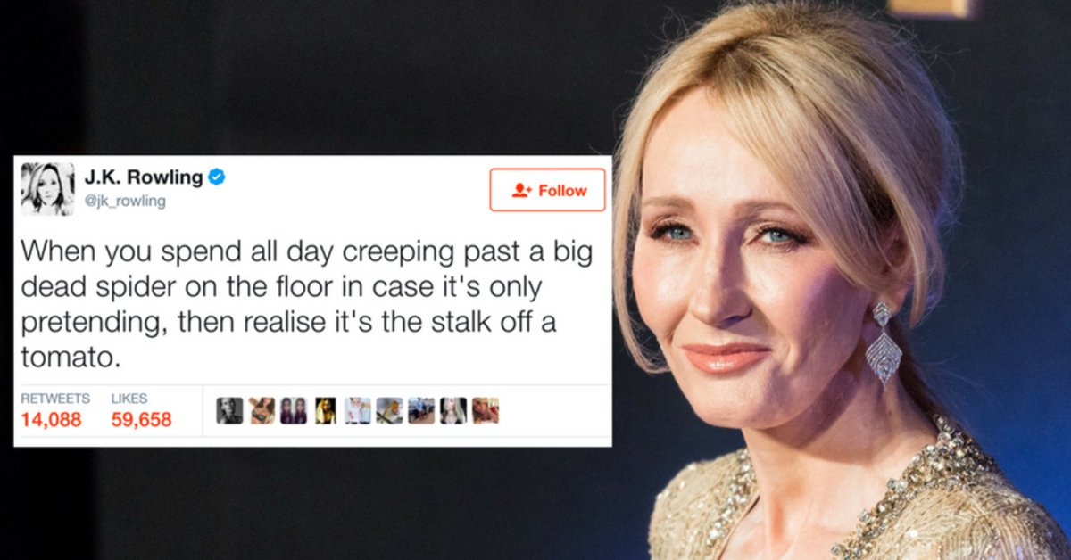 35 reasons J.K. Rowling should never, ever leave Twitter https://t.co/Umb0qCxCdl