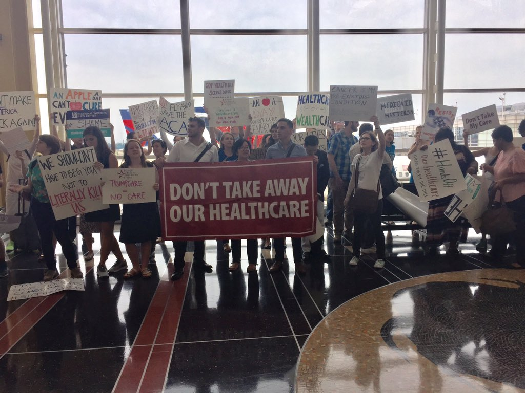 Don't fly away, save the ACA! https://t.co/PsaSqjpVEw