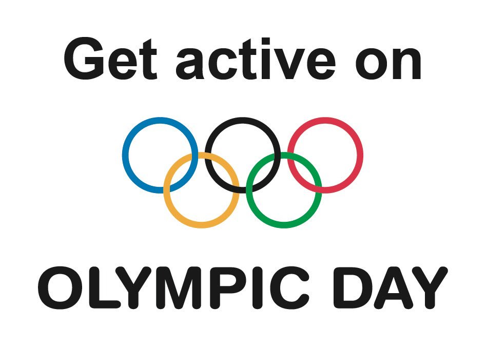 Wishing everyone a very happy Olympic Day! Remember to get active! @Ol...