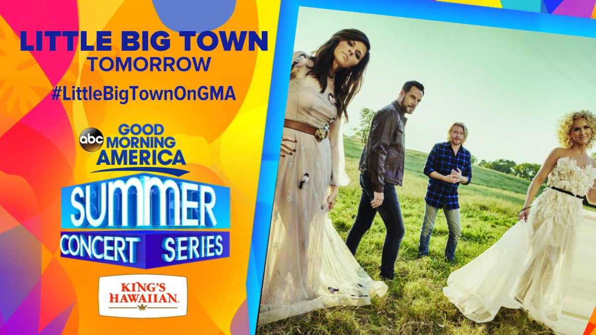 .@GMA's Summer Concert series continues with a LIVE performance by @li...