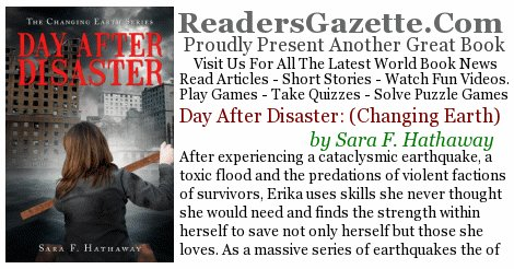 Day After Disaster: (Changing Earth) .@SaraHathaway19 #Adventure https://t.co/D9XMD5oj4C After experiencing a cataclysmic ea #novels 2