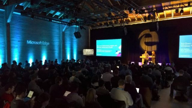 Developers: Microsoft Edge Web Summit 2017 coming to Seattle on Sept....