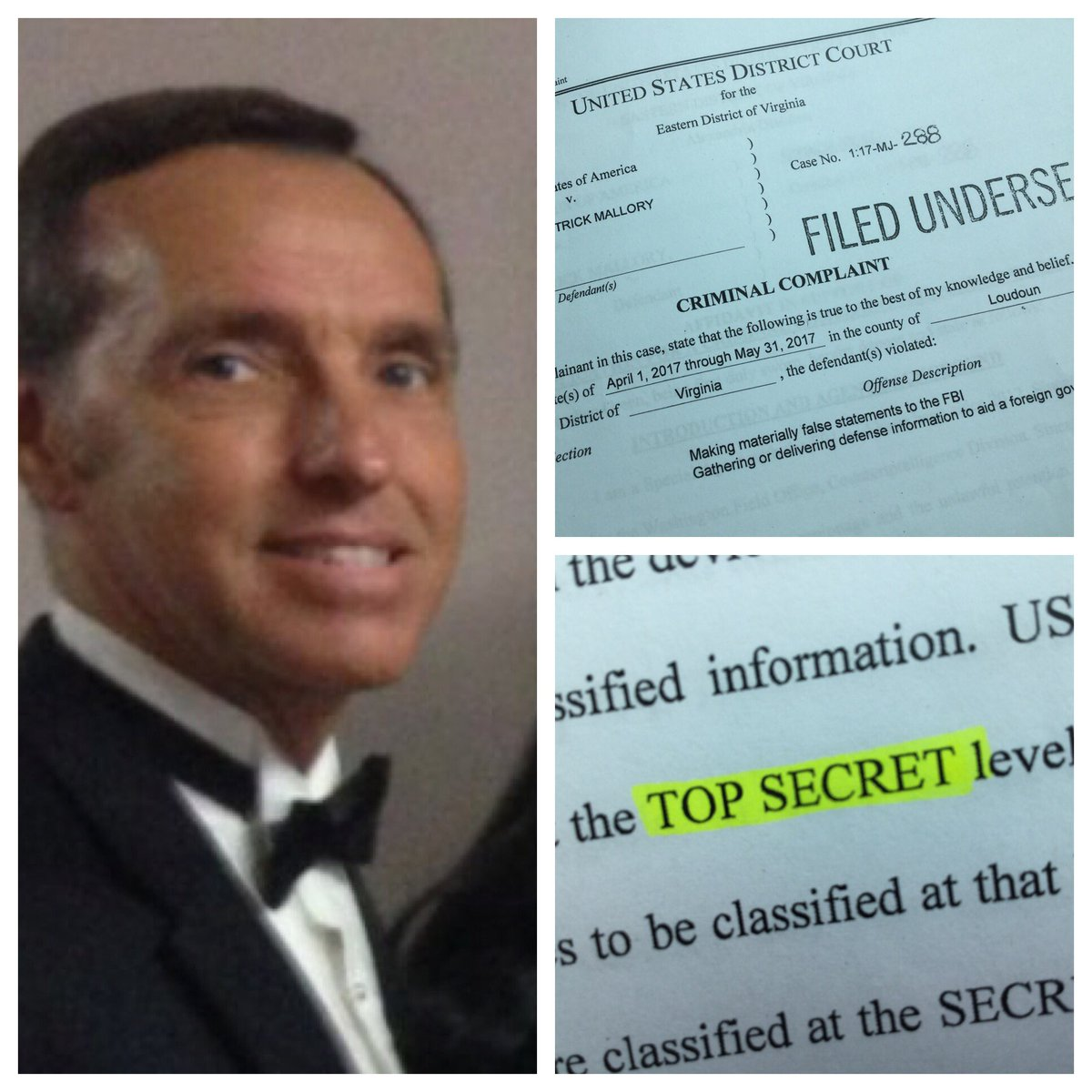 A former defense contractor from #Loudoun accused of selling government secrets to Chinese operatives.  Details #NBC4DC@6 @nbcwashington<br>http://pic.twitter.com/LReJwkwUV2