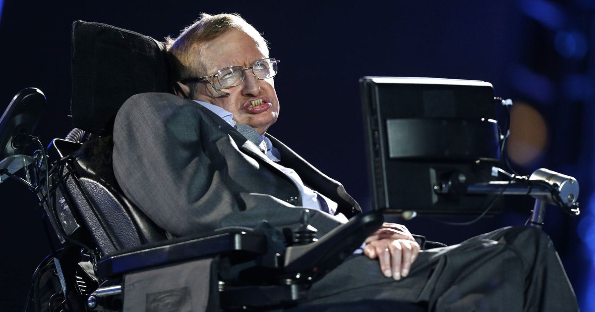 Stephen Hawking: Earth is in danger, and it's time to explore other worlds (AP photo) https://t.co/5mTcHq6W0F