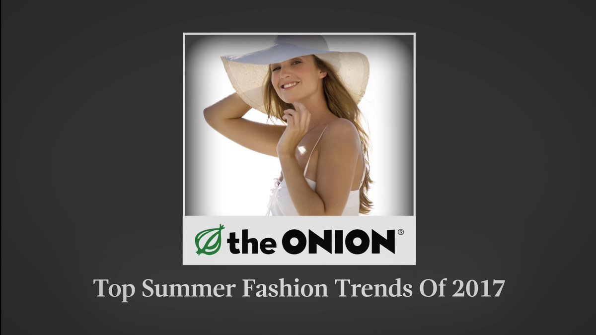 Top Summer Fashion Trends Of 2017