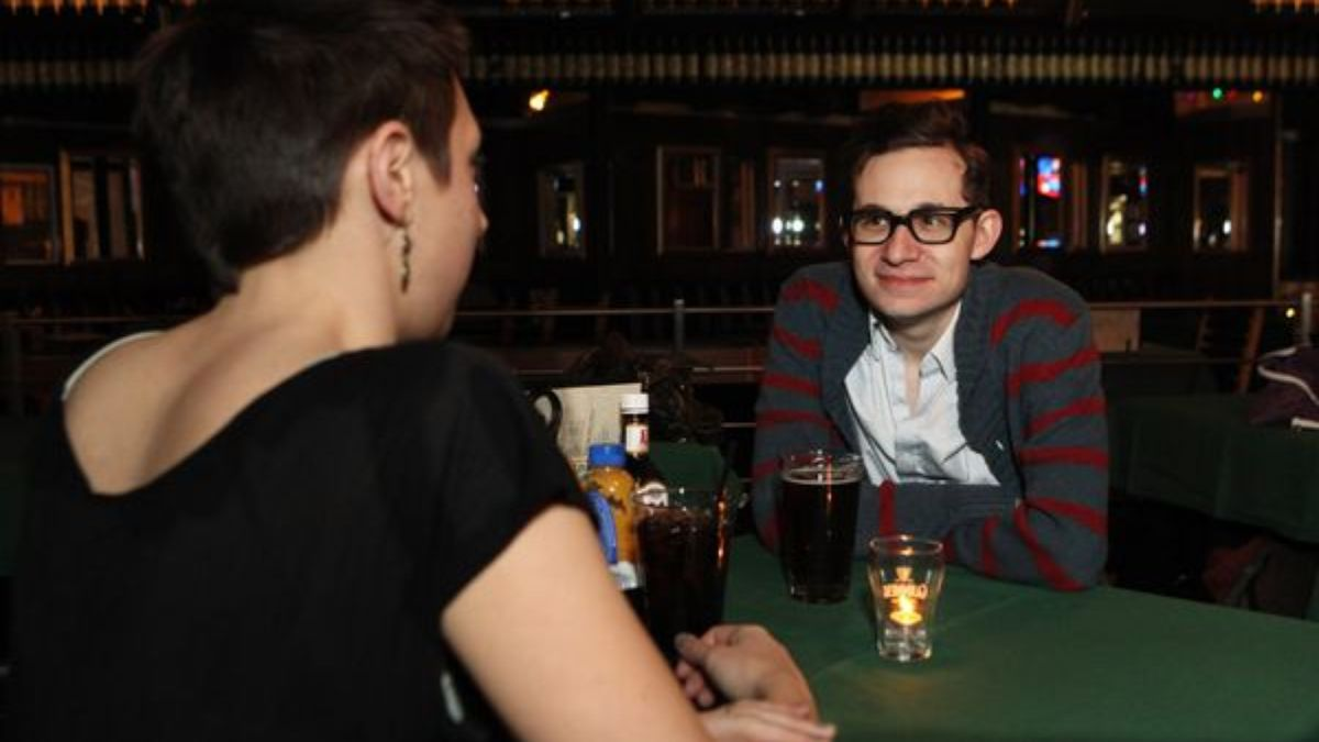 Smitten Man Can't Believe Woman He's On Date With Also Into The Beatles trib.al/yN9mDyD