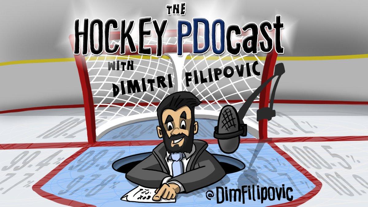 The Hockey PDOcast: @DimFilipovic and @CraigCustance discuss the #VegasDraft, #NHLAwards, and Jordan Eberle trade.  https://t.co/UQEcpAgTql
