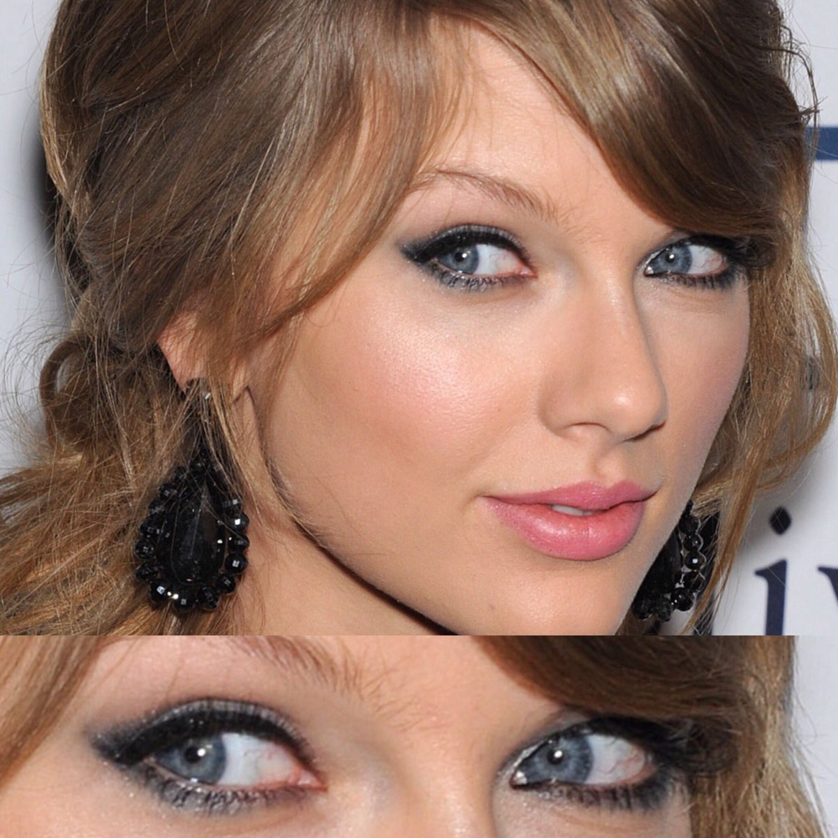 Which eye makeup? Vote below! #TaylorSwiftNOW #TaylorSwift #Swifties #makeup #eyeliner #eyeshadow #mascara<br>http://pic.twitter.com/edZVwpqQGJ