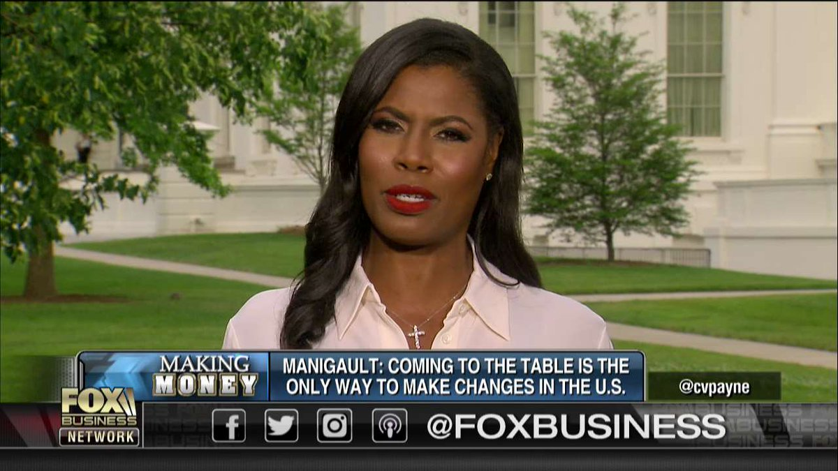 .@OMAROSA: Coming to the table is the only way to make changes in the United States.