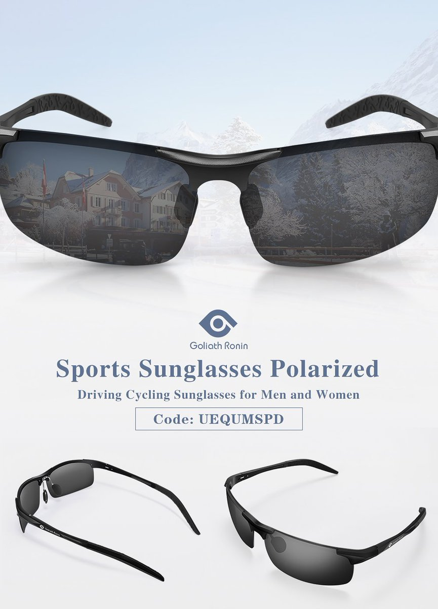 7fad663613  Goliathronin  Sportssunglasses  Cyclingsunglasses  UV400Protection   Polarized https   www.amazon.com dp B071P1LMXD  pic.twitter.com P2NcAEGg2Q