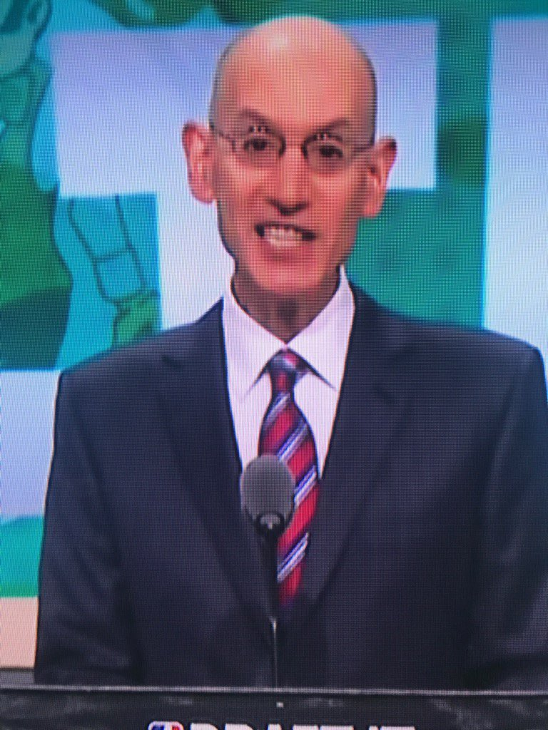 Adam Silver. What Rog would look like if he had never discovered Guinn...