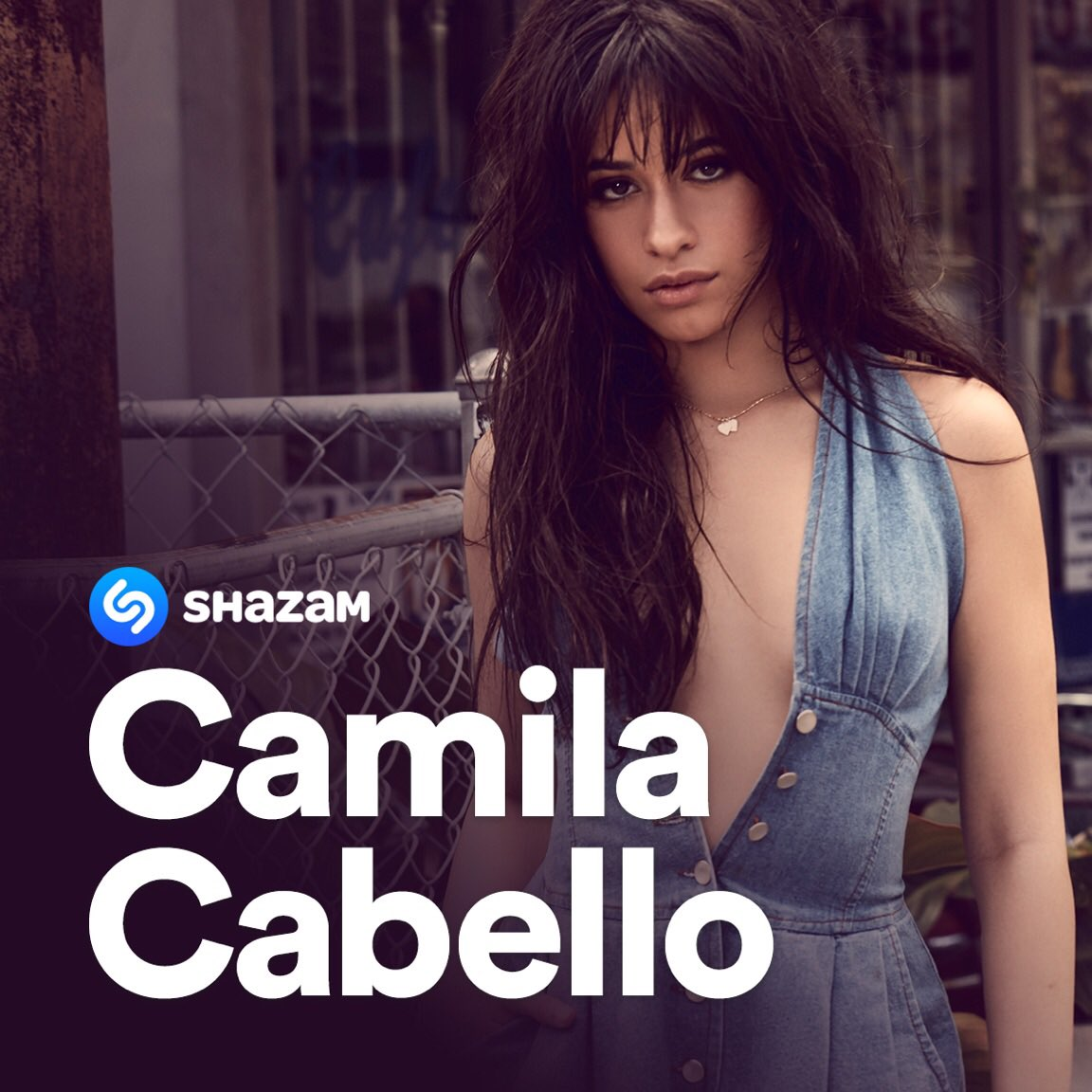 unlock an exclusive #BTS video from my latest photoshoot when you #shazam #cryingintheclub during @FallonTonight!! 💕💕 @Shazam