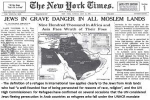 After mass expulsions by #Muslims, where did 850K persecuted #Jewish #refugees from #Arab countries go? To #ISRAEL  #WorldRefugeeDay  #Memory<br>http://pic.twitter.com/M5LP7u3NQn