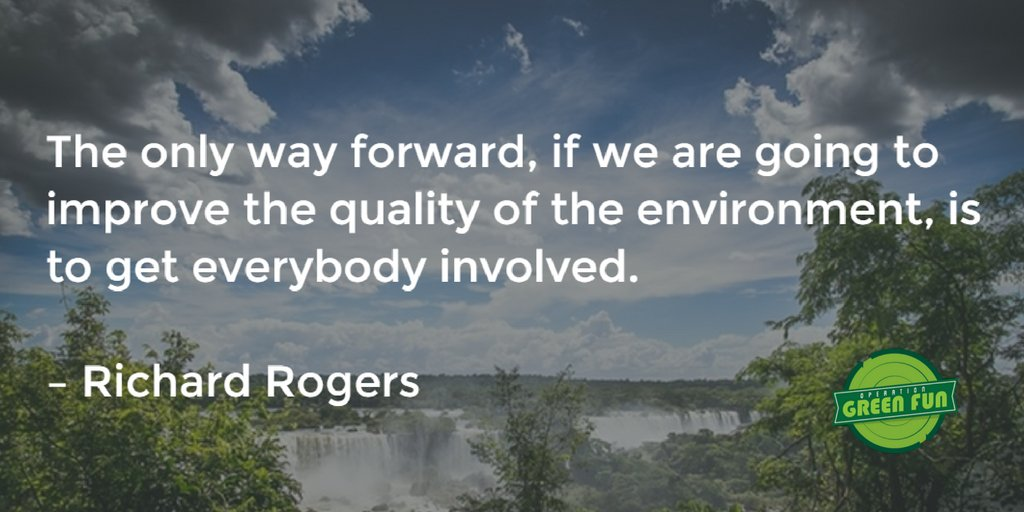Can we #WorkTogether to help the #environment? You bet we can - and th...