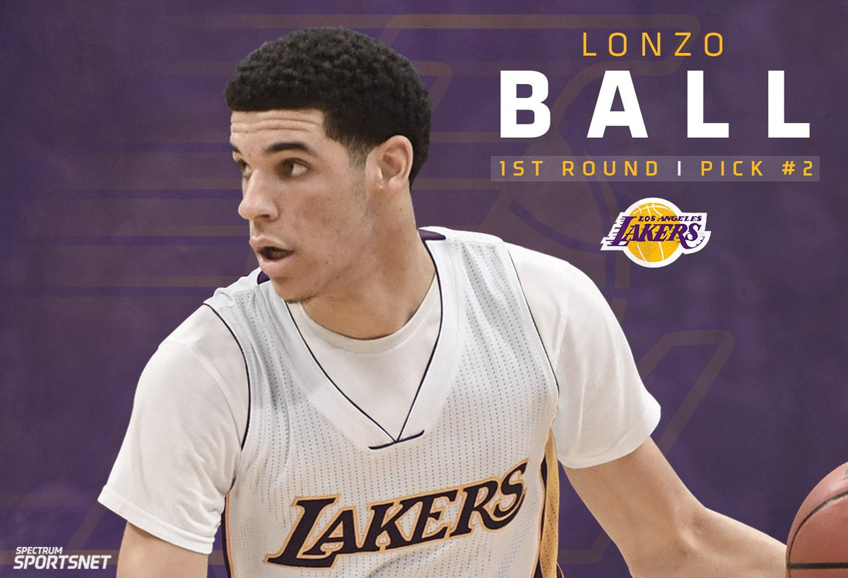 With the 2nd overall pick in the 2017 #NBADraft, the #Lakers select @Z...