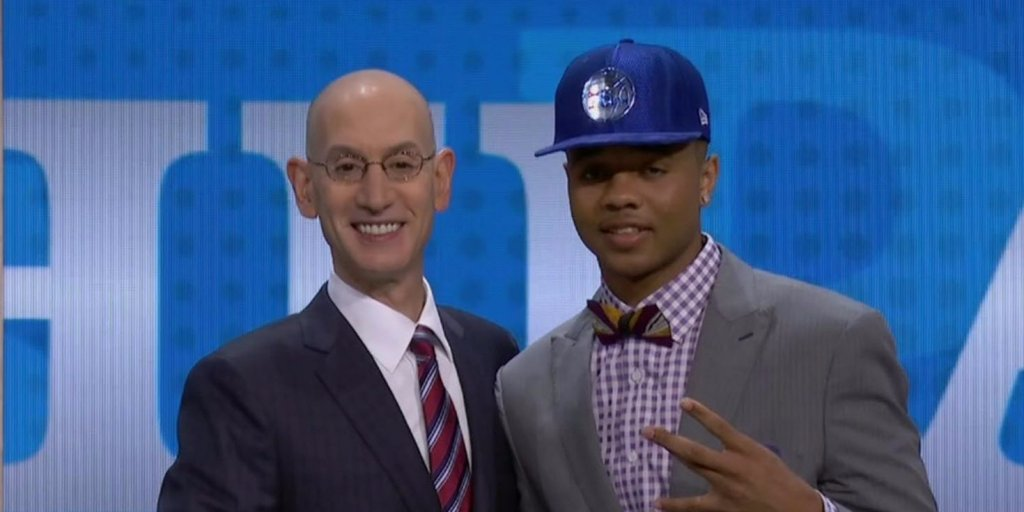76ers take Washington guard Markelle Fultz with the first pick of the NBA Draft https://t.co/DBdRt84nag