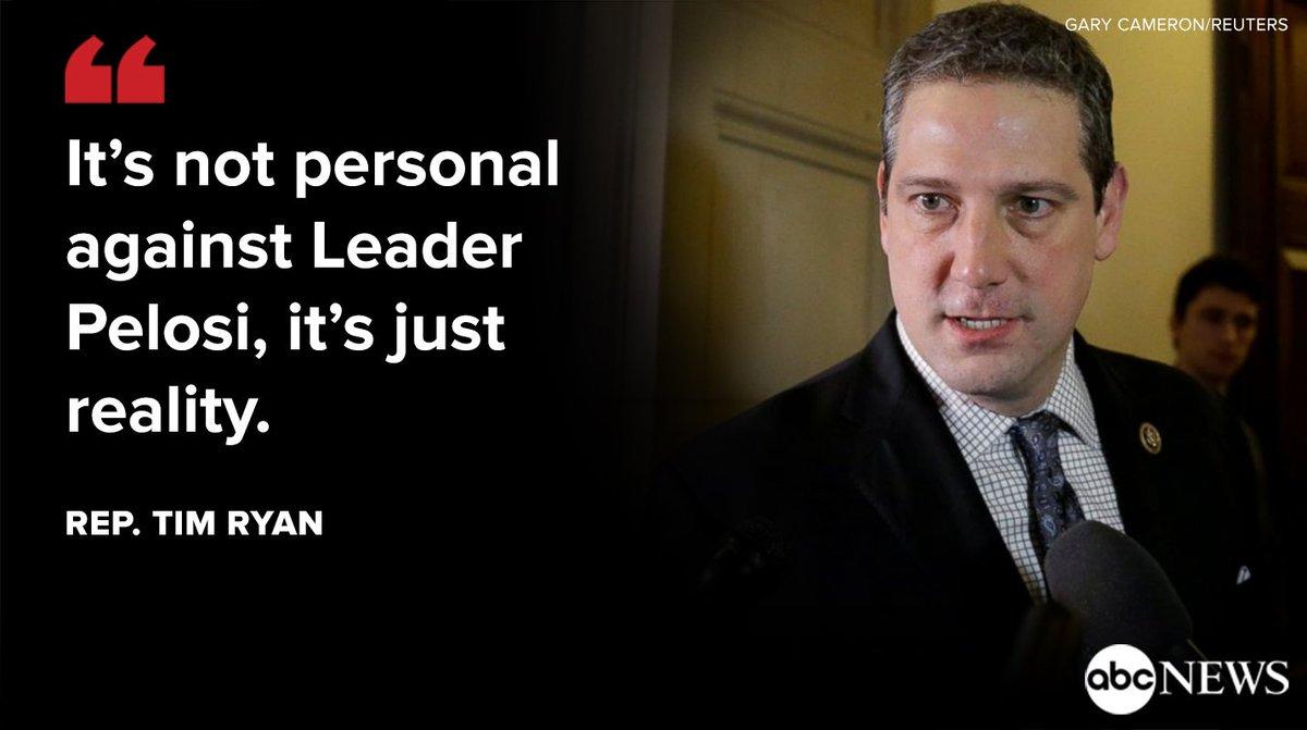 Democratic Rep. Tim Ryan says Nancy Pelosi is 'impediment' to taking back House majority. https://t.co/0AL7Frm5A7