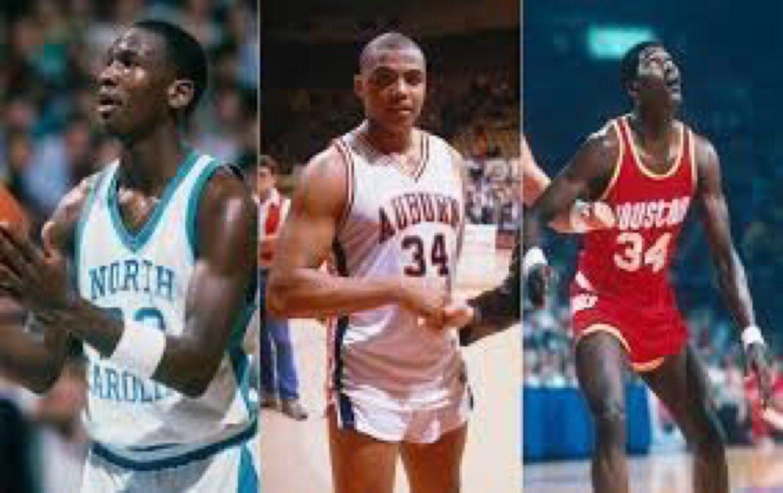 1984 #NBADraft:   1 H. Olajuwon 2 Sam Bowie 3 MICHAEL JORDAN 🏀 4 Sam P...