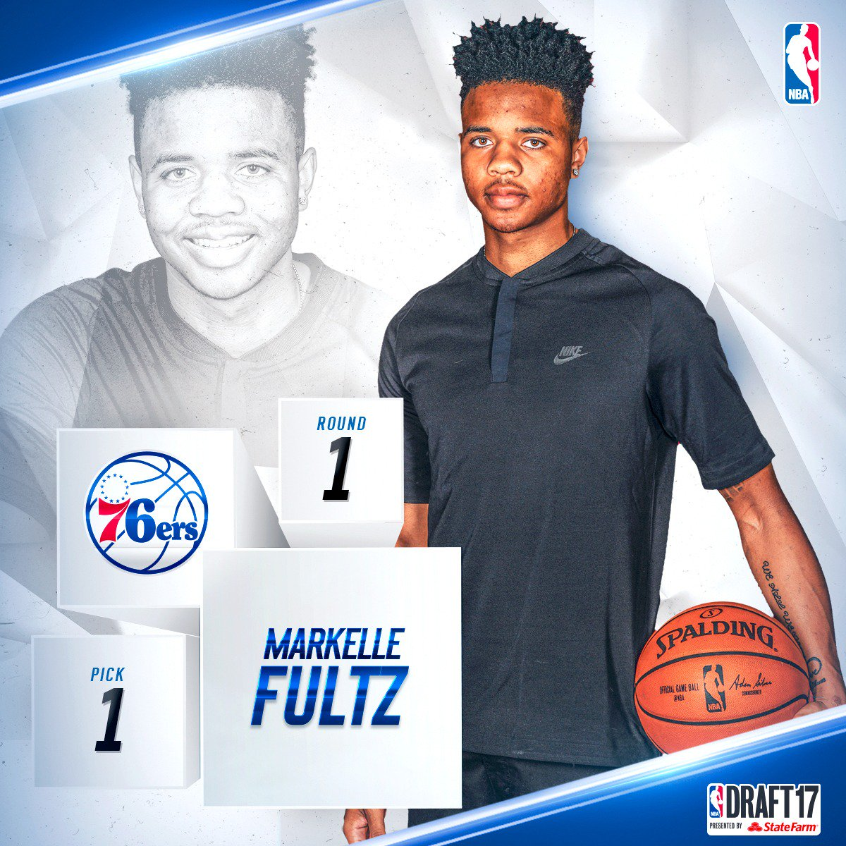 With the first pick in the 2017 #NBADraft, the @sixers select @Markell...