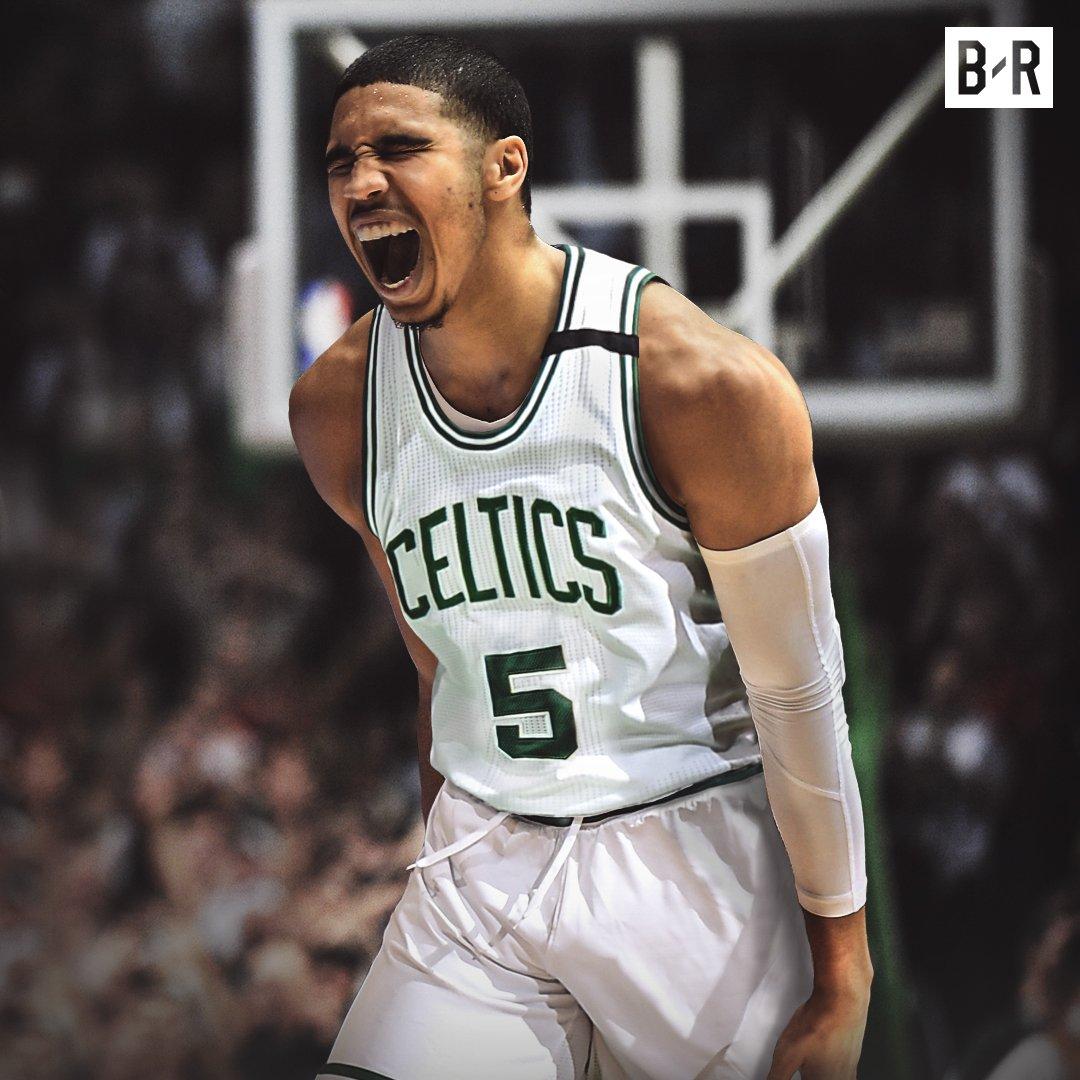 The Celtics take Jayson Tatum at No. 3!