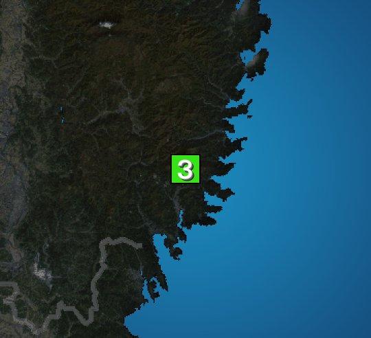 6月23日 8:59 震度3  https://t.co/7Nz8xhW8wB #地震 #防災 #減災 https://t.co/m89N7...