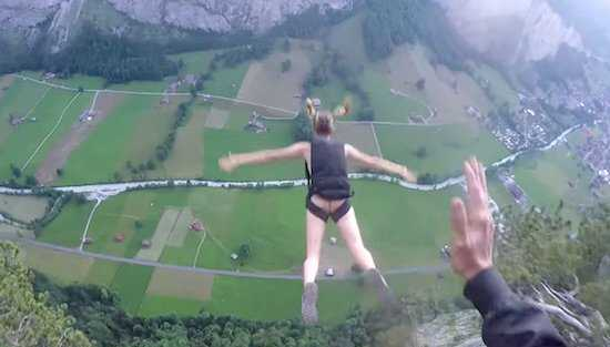 Video- Instagram Hottie Just Threw Herself Off A Cliff https://t.co/LYVHMyeAXQ …