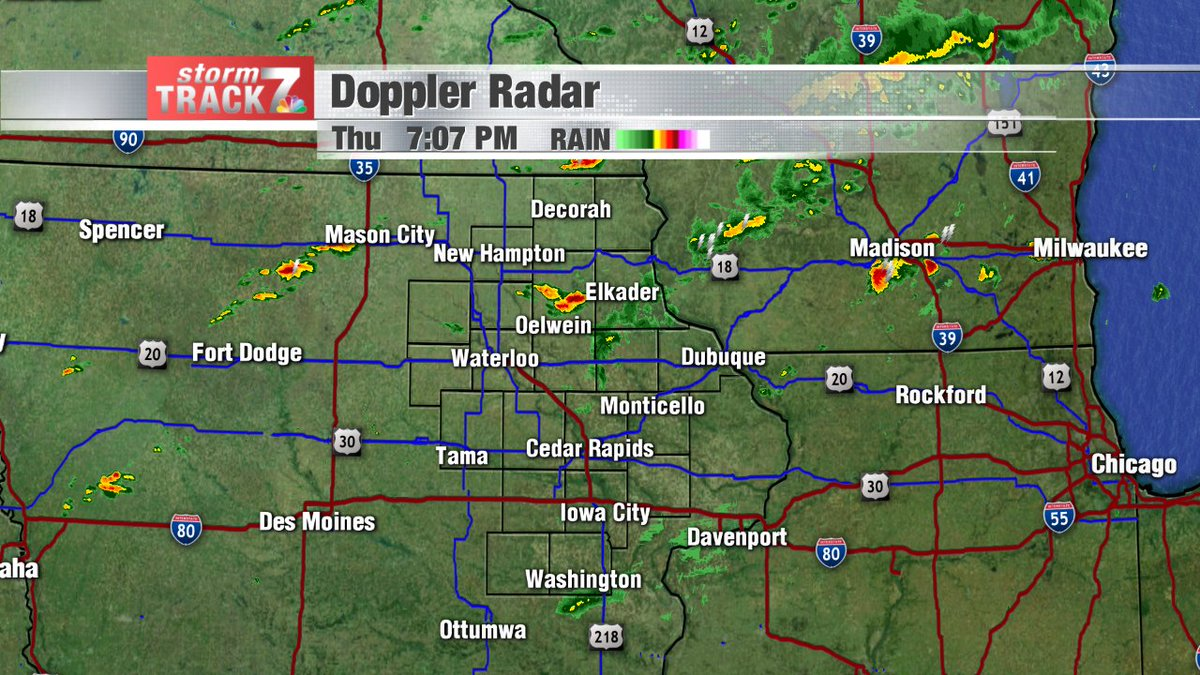 You can track the rain and storms developing by clicking this link.  https://t.co/eOwYfsgShm