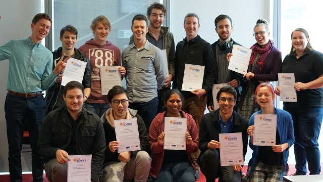 Catching up with the amazing @Swinburne @In2science mentors. Great program getting high school students excited about #STEM. <br>http://pic.twitter.com/OZOFrCLzgl