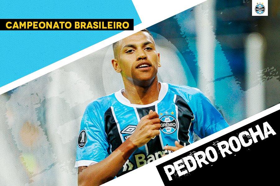 Pedro Rocha passa por todo mundo e marca um GOLAÇO de canhota! Grêmio 1x0 Coritib #GRExCFC #Brasileirão2017 #DiaDeGrêmio #VamosTricolora