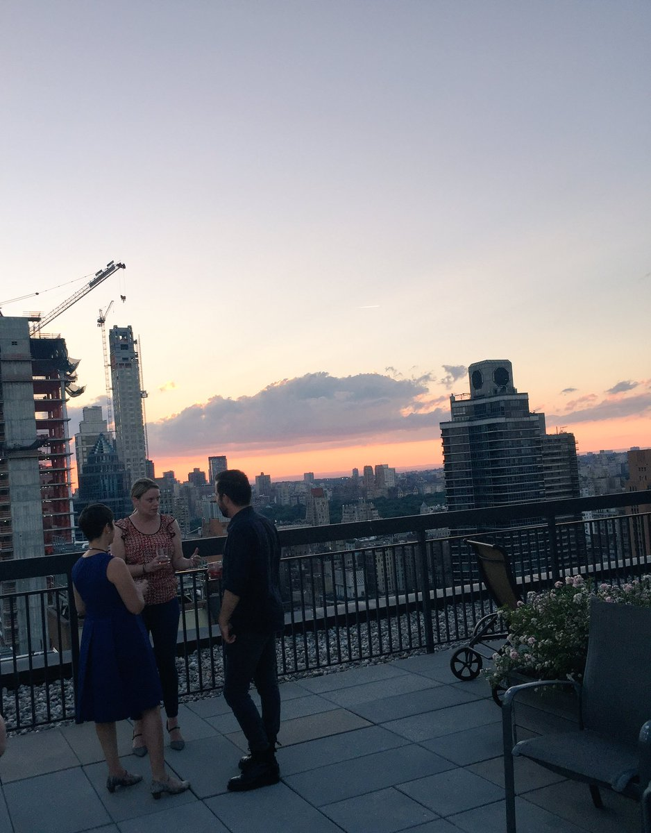 Beautiful #NYC evening for Summer Solstice Reception hosted by @issp_nyc. #Sustainability #ESG #SocEnt #Business #Innovation @ISSP_Org<br>http://pic.twitter.com/XSa9EjJs69