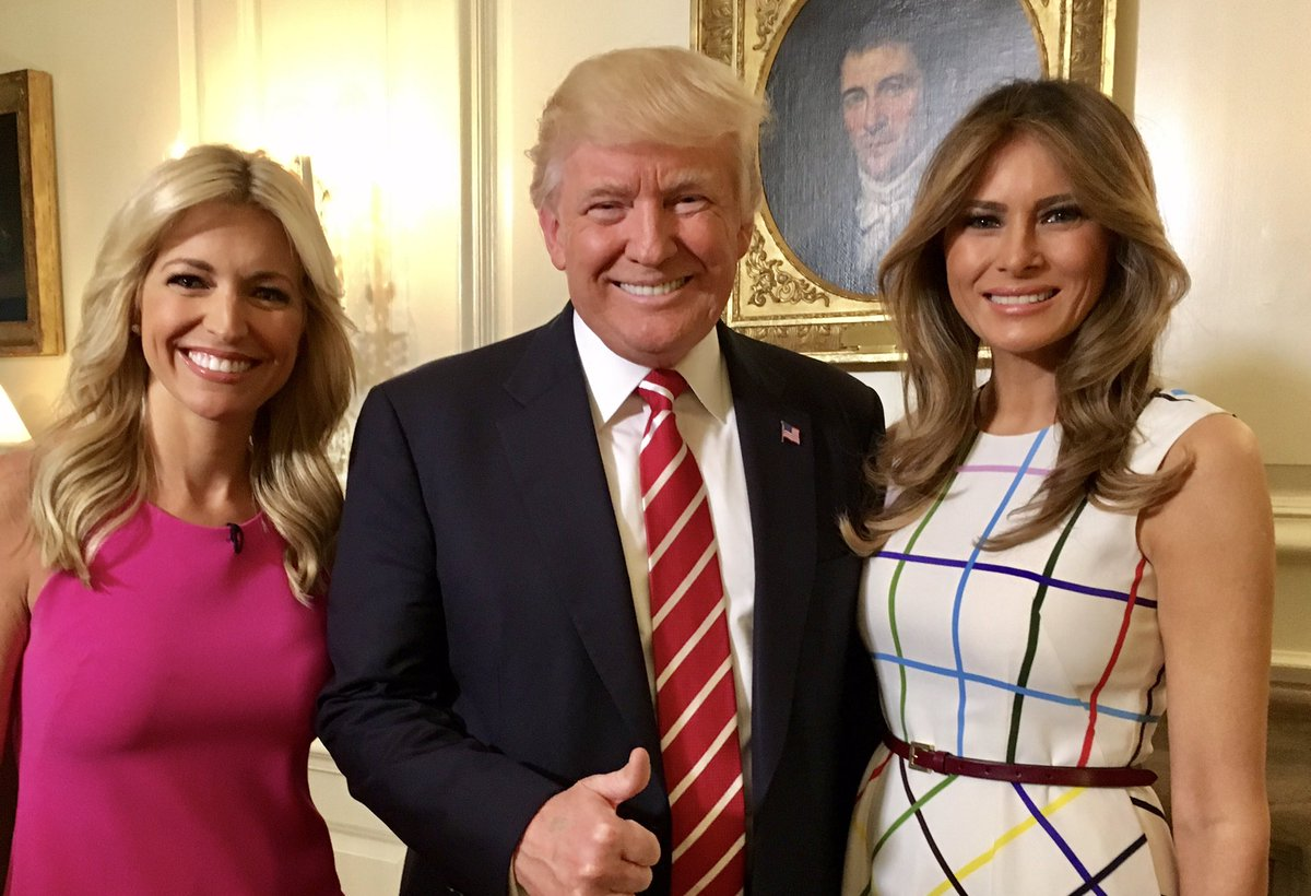Wake up to @foxandfriends My exclusive interview w/ @realDonaldTrump @POTUS &  We @FLOTUStalk  & h#Comeytapeser move to the @WhiteHouse