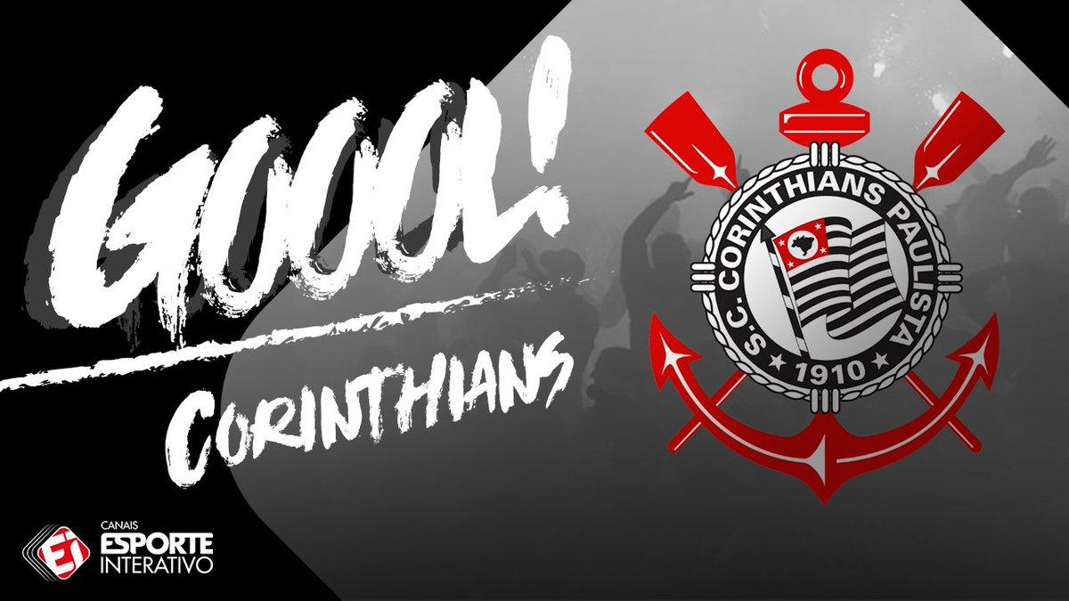GOOOOOOOOOOL! É do @Corinthians! Marquinhos Gabriel faz o terceiro do...